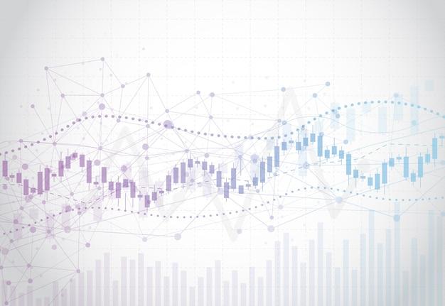 График фондовой биржи