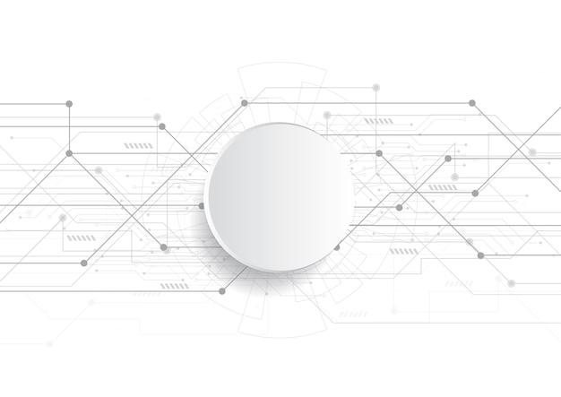 技術的な回路基板のテクスチャと抽象的な背景