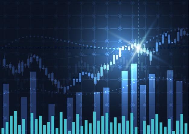 Бизнес свеча график график фондового рынка