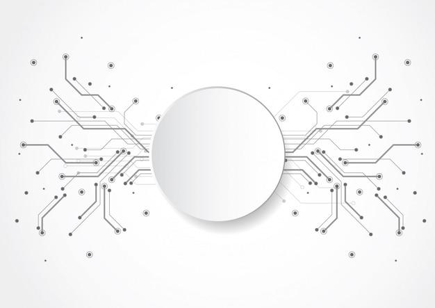技術回路基板の質感と抽象的な背景