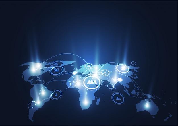 Глобальное сетевое соединение.