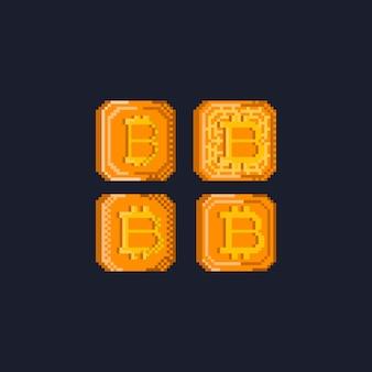 Пиксельная криптовая валюта.