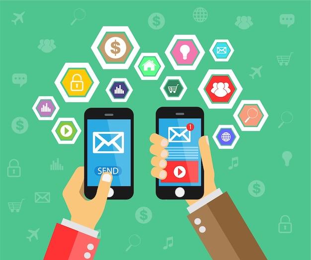 Интернет вещей на мобильном телефоне