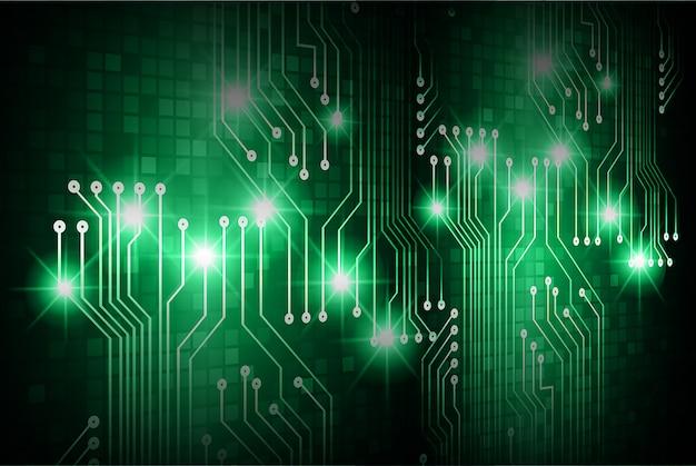 グリーンサイバー回路の将来の技術コンセプト背景
