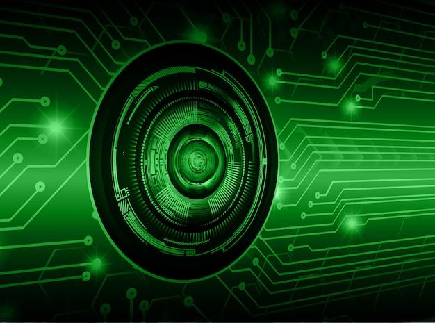 グリーンアイサイバー回路将来の技術コンセプトの背景