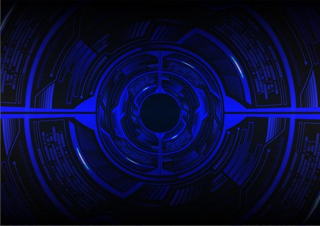 ブラックアイサイバー回路将来の技術コンセプトの背景