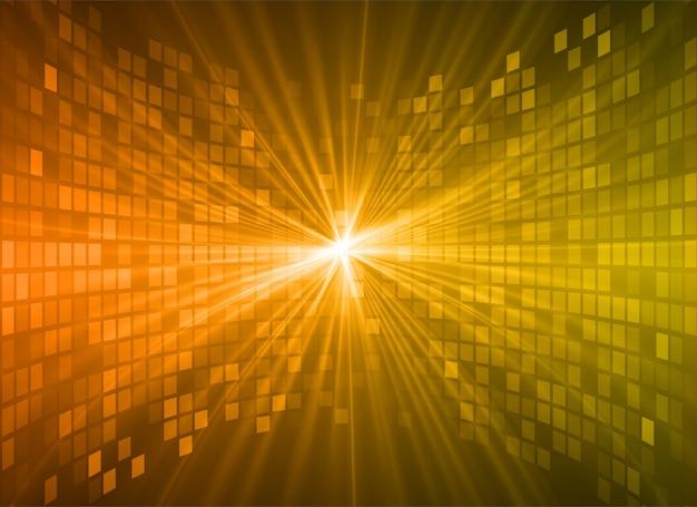 光の抽象的な技術の背景