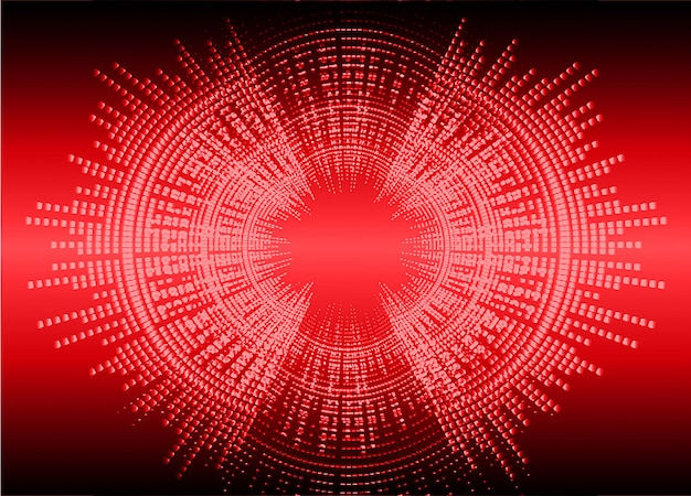 暗赤色光を振動させる音波