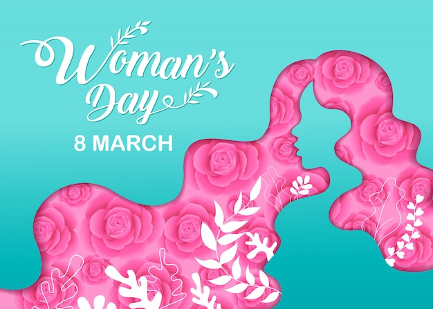 幸せな女性の日の休日