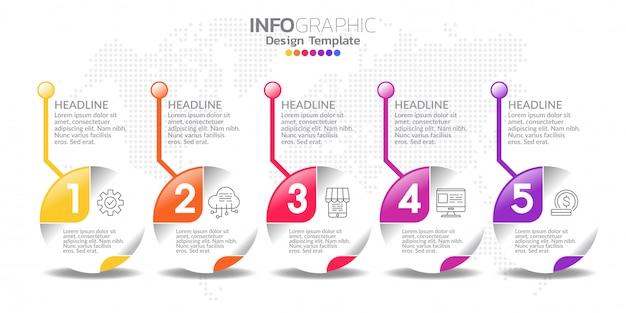 Инфографические элементы для содержания, диаграммы, блок-схемы, шагов, частей, графика, рабочего процесса, диаграммы.