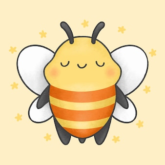 かわいい蜂漫画