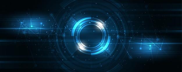 抽象的な技術の背景ハイテクコミュニケーションコンセプトイノベーションの背景