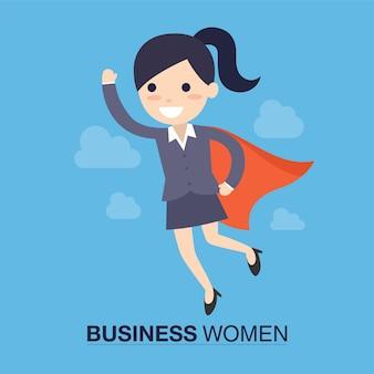Супер бизнес-женщина