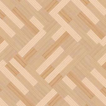 木製の寄木張りの床のテクスチャの背景。