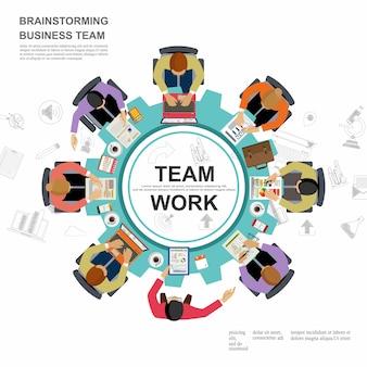 営業会議とブレインストーミング