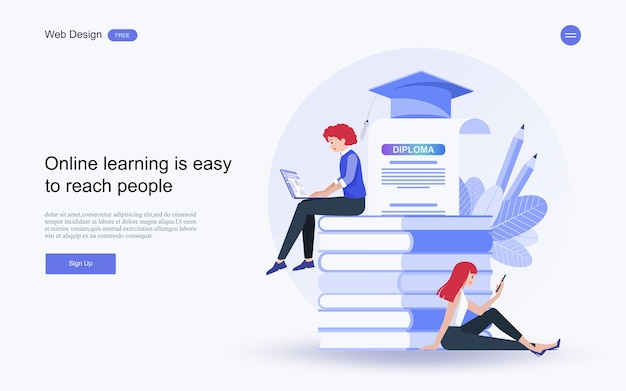 オンライン教育、トレーニング、コース、学習