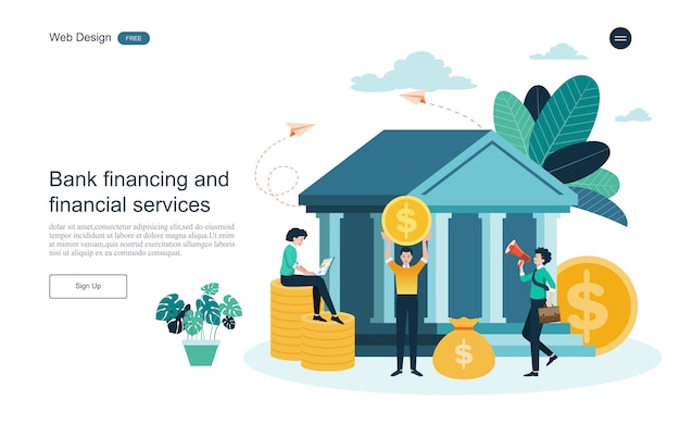 Бизнес-концепция для онлайн-банкинга