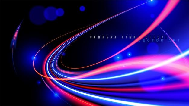 Абстрактная скорость света в векторе