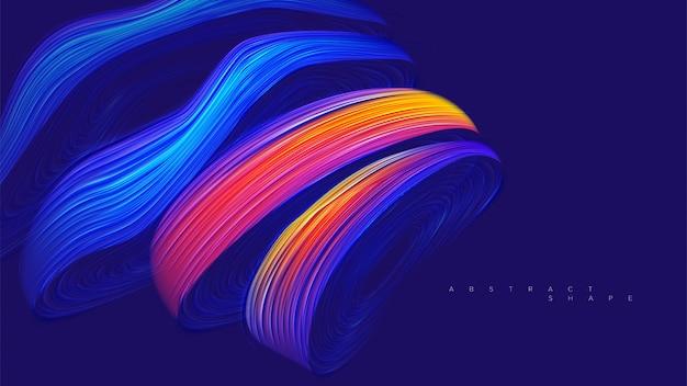 抽象的なアンテロープ形状