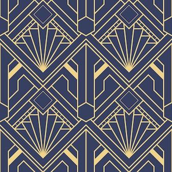 抽象アールデコシームレスパターン