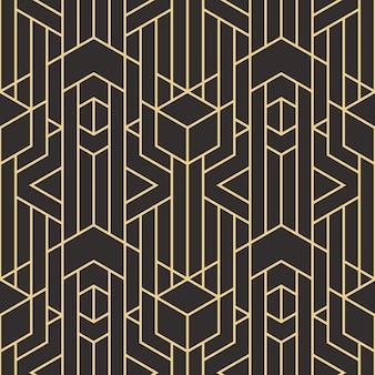 Абстрактное искусство деко бесшовные современные плитки шаблон