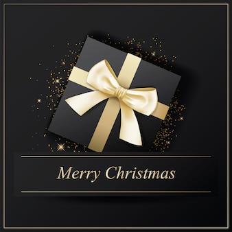 招待状メリークリスマスポスターバナー。
