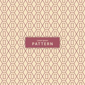 Бесшовный геометрический узор в винтажном стиле