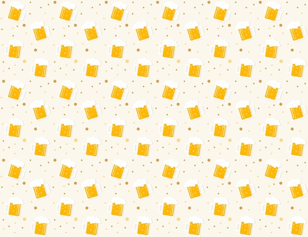 ビールパターンの背景