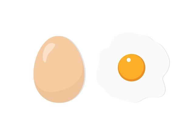 Векторные иллюстрации яйцо