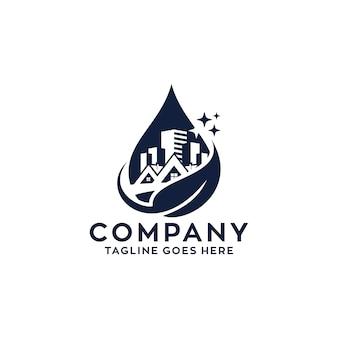 Логотип для уборки дома