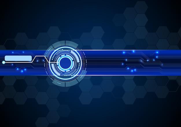 Абстрактный фон концепции технологии