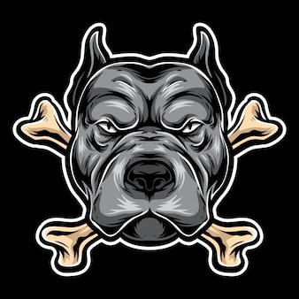 ピットブルボーンのロゴ