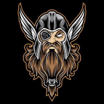 オーディンのベクトルのロゴ