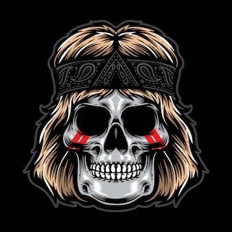 ロックンロールの頭蓋骨