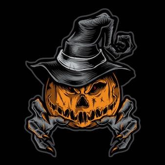 Страшные ведьмы тыквы