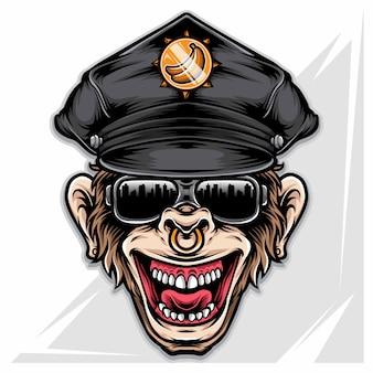 Офицер обезьяны
