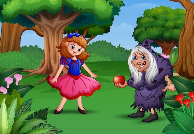 白雪姫と魔女