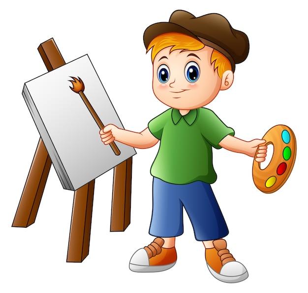 Картина мультфильма мальчика