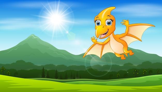 太陽の下で飛ぶ奇形