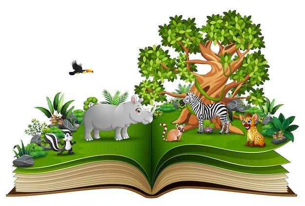 動物漫画の本