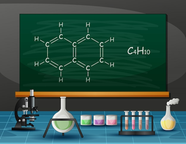 実験室の化学および分子装置