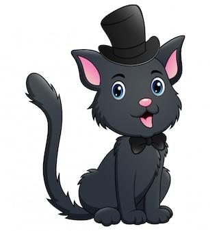 かわいい黒猫漫画