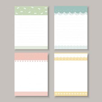 ノートブックの設計要素