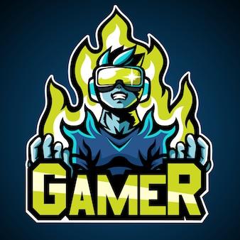 Логотип геймера