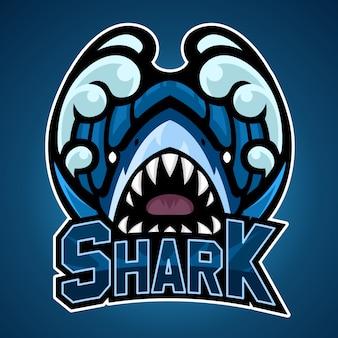 サメのロゴ