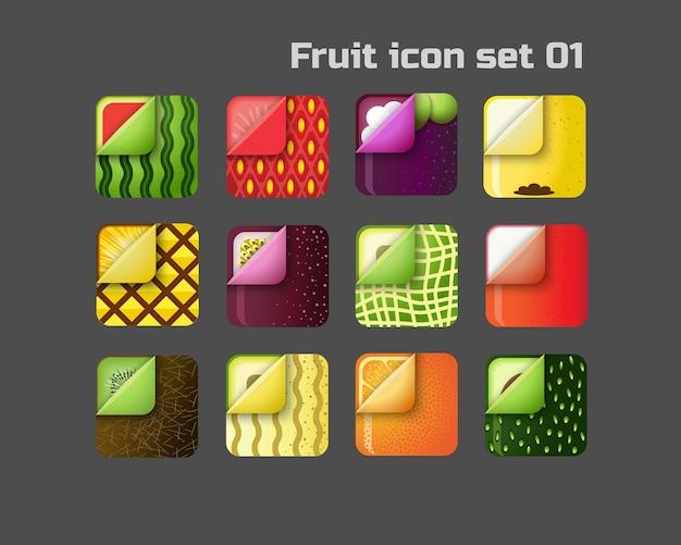 Значок фруктов