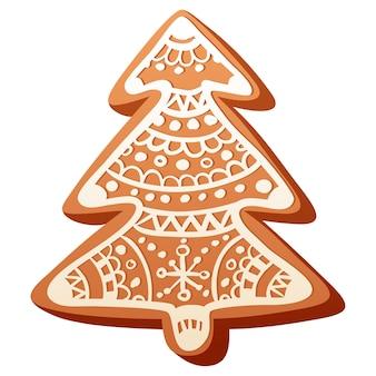 かわいいクリスマスジンジャーブレッドクッキー