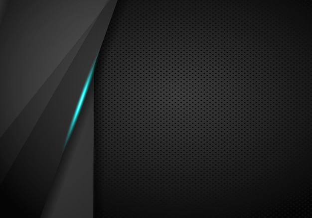 抽象的なメタリックブルーフレームレイアウトモダンなハイテクデザインテンプレートの背景