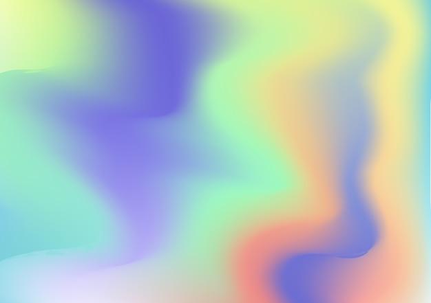 ホログラフィック虹の箔の抽象的な背景。