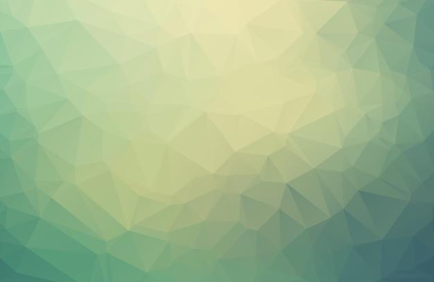 三角モザイク低ポリゴン抽象的な背景。